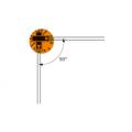 Тензорезисторы фольговые двухосевые KFGS-1-350-D16