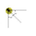 Тензорезисторы фольговые трехосевые KFGS-1-350-D17